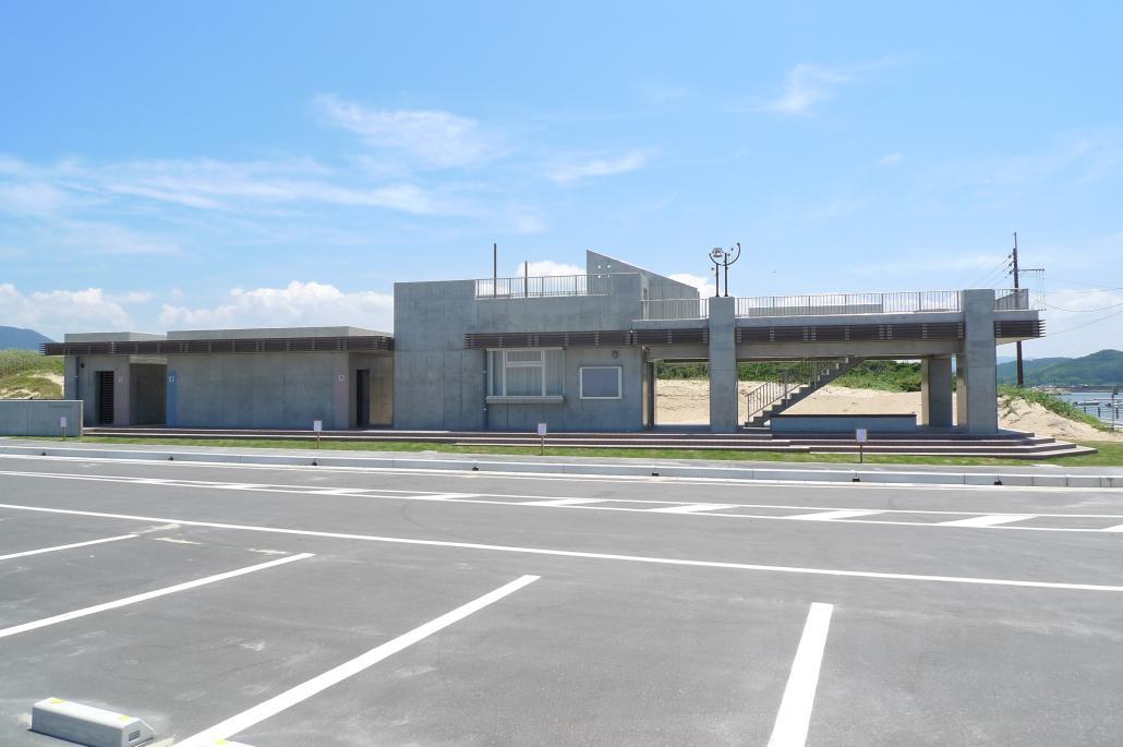 北斗の水くみ海浜公園(管理棟)の画像